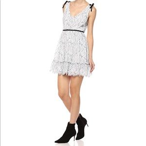 Cupcakes and Cashmere Ezzy Lace Dress in White